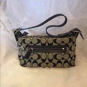 COACH monogramed purse